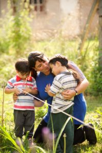 mother-sons-working-outdoors-1080853-gallery
