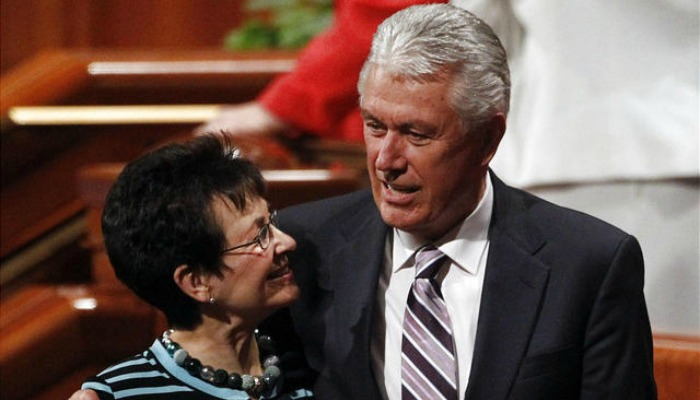 Pres Uchtdorf and his wife