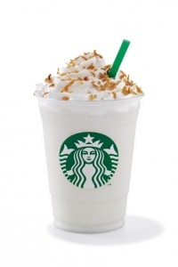 Starbucks White Chocolate Frappuccino