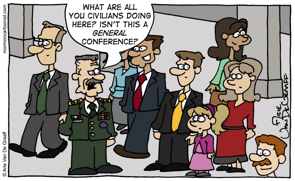 Why are Civilians at a General Conference?