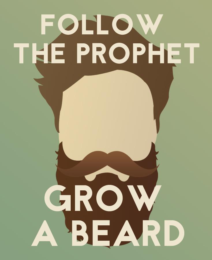 Start growing a beard meme