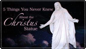 Temple Square Christus