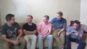 Group of returned missionaries