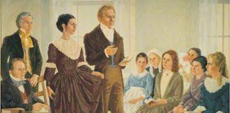 Joseph Smith establishing Relief Society