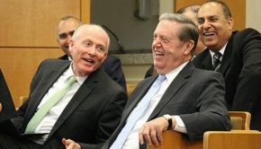 Elder Holland Laughing
