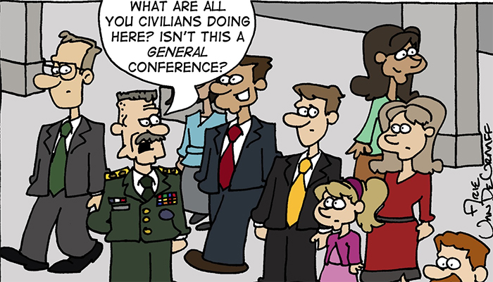 A Military General at General Conference