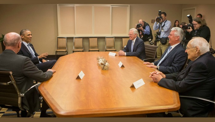 Obama, LDS Church Leaders