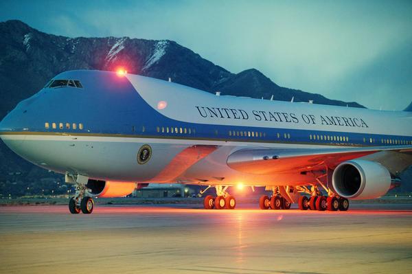 Air Force One in Utah