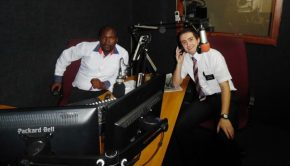 South African LDS missionaries on radio