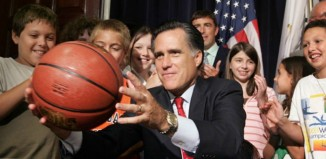 Mitt Romney, basketball