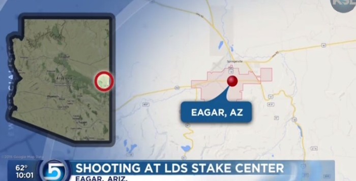 Shooting at LDS stake Center