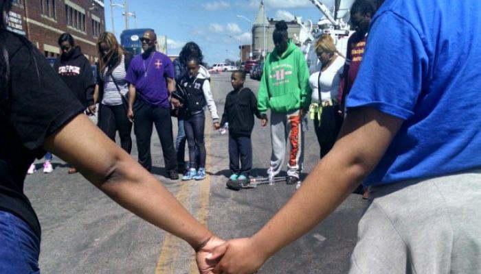 Fasting and praying in Baltimore