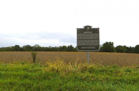 Mormontown Site Marker