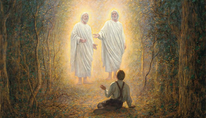 First Vision, LDS