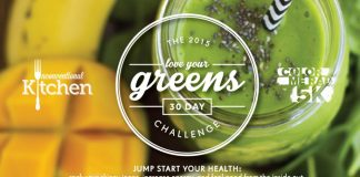 30 day greens challenge banner