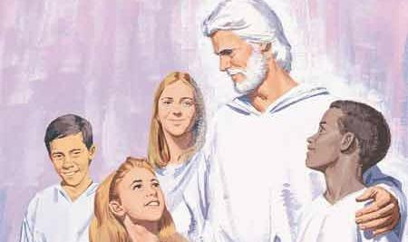 Heavenly Father in heaven