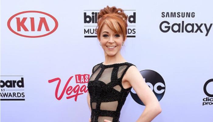 Lindsey Stirling in her Billboard Music Awards Dress