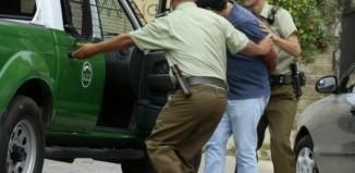 Chile arrest