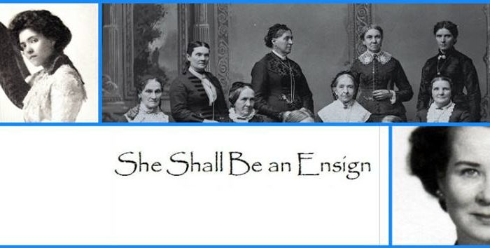 She Shall be an Ensign photo collage