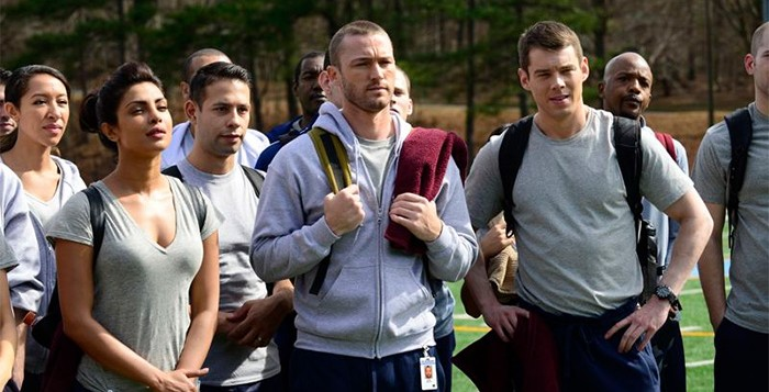 Scene from ABC's New Show Quantico