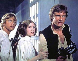 Original Star Wars cast.