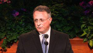 Elder Soares speaking