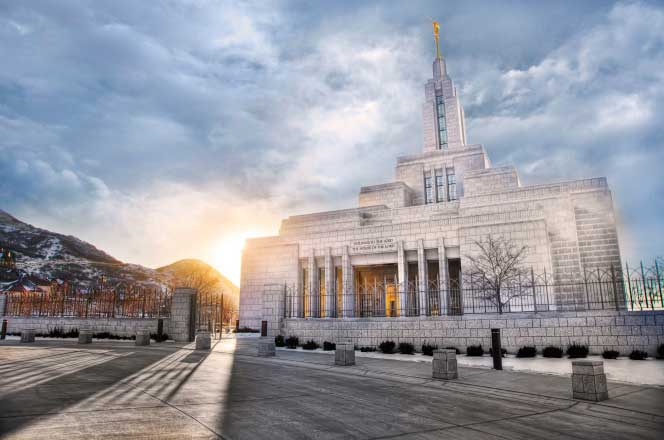 The Draper Temple