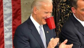 Joe biden, red solo cup