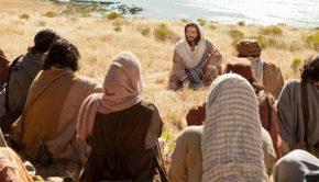 Jesus teaching parables