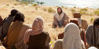 Jesus teaching parables