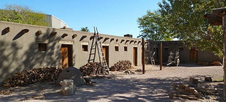 Fort Pueblo where LDS Pioneers stayed