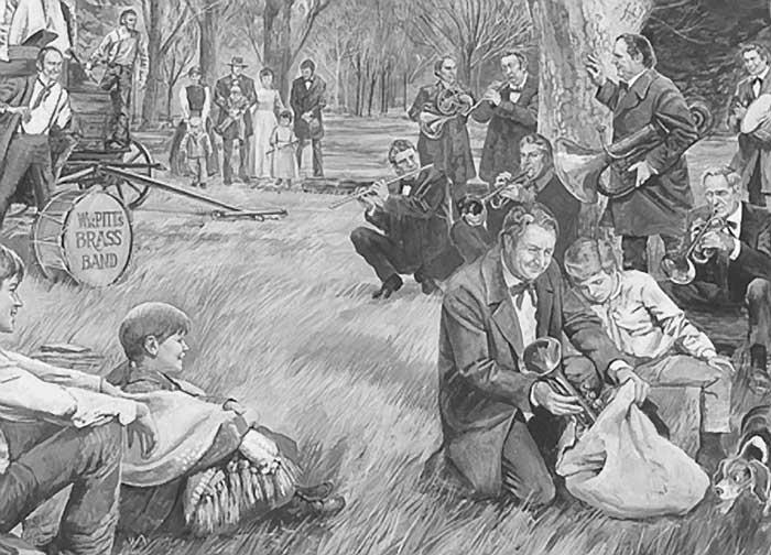 Mormon Pioneer Brass Band