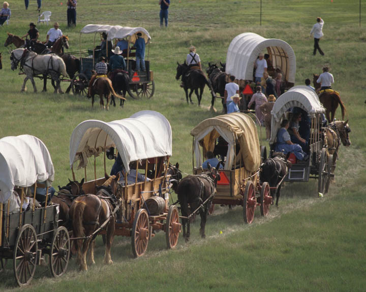 LDS Pioneer Trek Reenactment