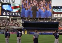 Mormon Tabernacle Choir at Yankee Stadium