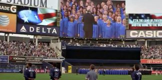 Mormon Tabernacle Choir at Yankee Stadium