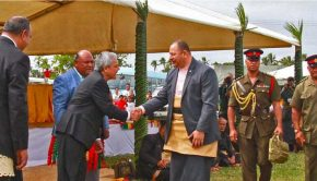 LDS Leaders, King of Tonga