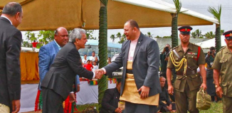 LDS Leaders, King of Tonga