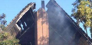 LDS Church Fire, LA