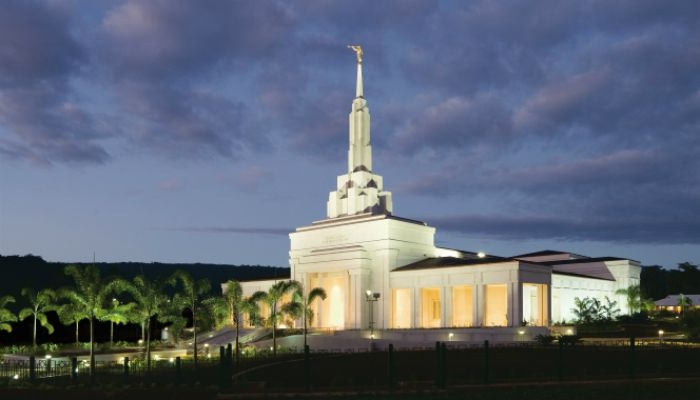 Mormon Temple, Samoa