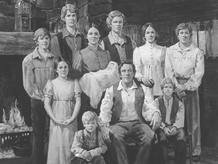Joseph and Lucy Smith had 11 children, the first did not survive birth