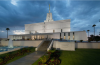 LDS Mexico City Temple _ Night