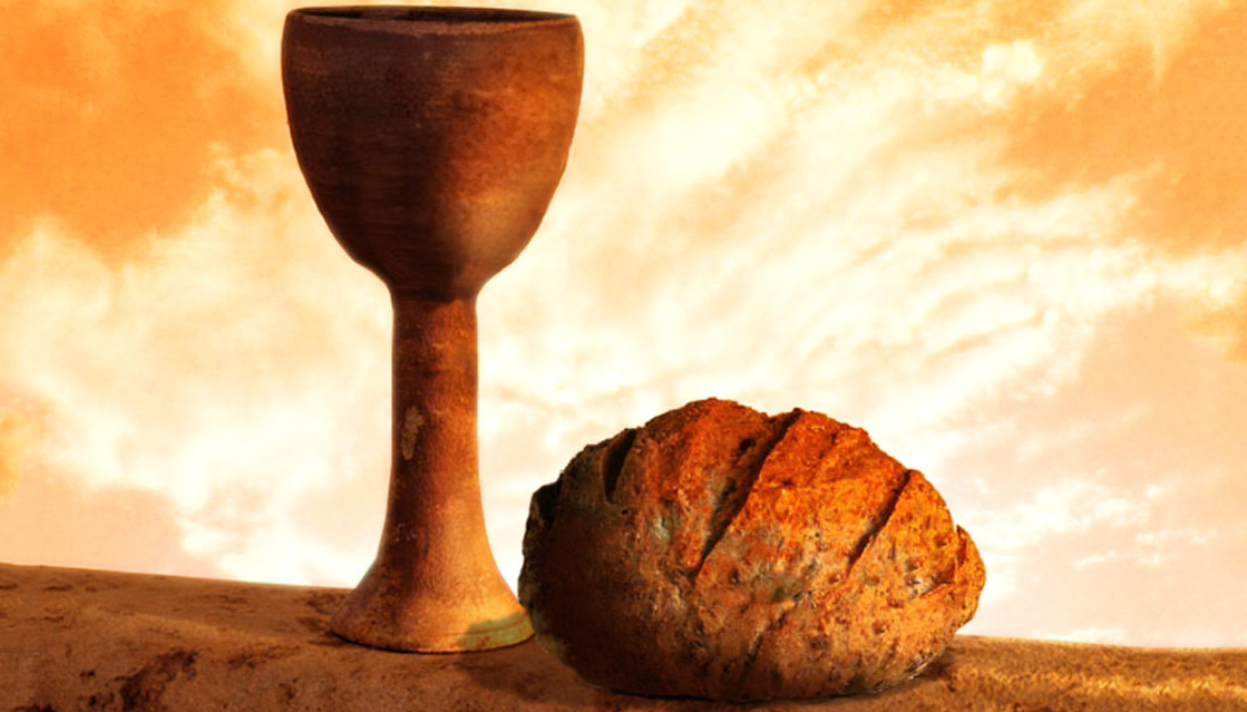 The bread and cup of the sacrament