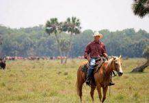 Desret Ranch farmer