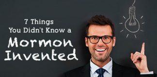 mormon inventions