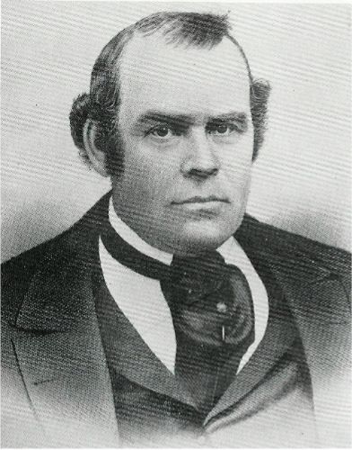 Portrait of Parley P. Pratt