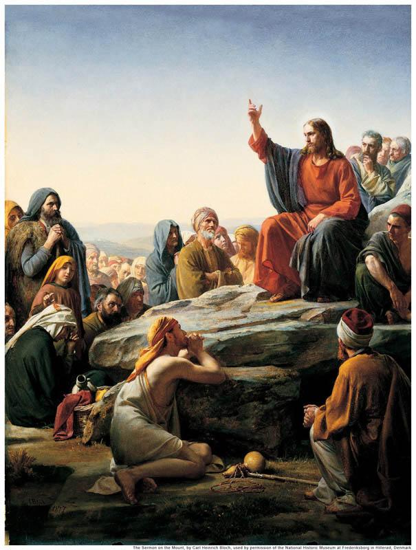 イエス・キリスト、悔い改め、変化することを教える