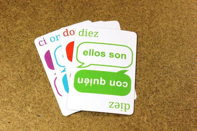 Language Learning Cards