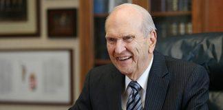 President Russell M. Nelson Prophet 2018 Mormon