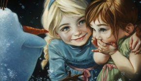 Disney Art Creations, Frozen, Heather Theurer