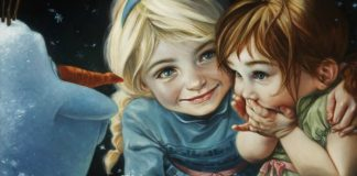Disney Art Creations, Frozen, Heather Theurer